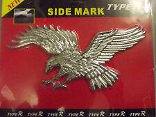 Flying eagle Chrome badge 3D cards logo emblem stick on Icon mirror decor AC19/E