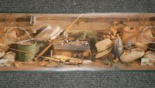 *Bulk Listing* Brown & Green Fishing Border by Hunting Valley Prints Ps2153B