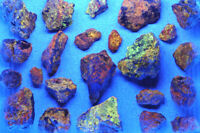 WURTZITE from GREECE * FLUORESCENT MINERAL * WHOLESALE LOT with 22 PCS *  7,6 cm