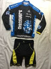 INBIKE Discover Channel Cycling Jersey Full Zip Tour France XXXL Sandic Shorts
