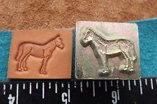 "Leather Tools/* Vtg * L/F Midas * '8 00006000 0's 1"" Stamp * #8525 * Horse *"