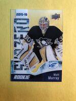 2017-18 Upper Deck ICE Subzero 2015-16 Retro Rookie #SZR-5 Matt Murray RC