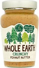 Whole Earth Crunchy Original Peanut Butter No Added Sugar 454g