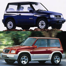 Suzuki Vitara JL JLX 1988-1999 Repair Workshop Service Manual