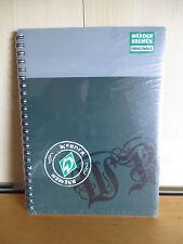 SV Werder Bremen 50 X Schreibheft Collegeblock schule DIN A5 WOW Fan Artikel