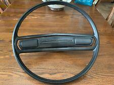 1977 D100 Dodge Truck Black Steering Wheel PickUp PN 3496322 Mopar 1973-1978