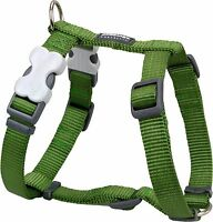 Red Dingo Plain GREEN Harness for Dog or Puppy | Sizes XS - LG | FREE P&P