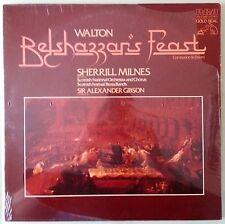 scottish national orchestra BELSHAZZARS FEAST gibson LP VINYL sealed shrink tear