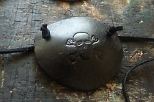 Handmade Leather Pirate Eye Patch - Skull Crossbone, Renaissance Festival, LARP