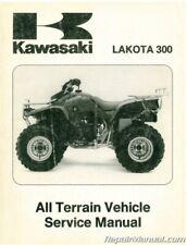 Used 1995-1997 Kawasaki Kef300 Atv Service Manual