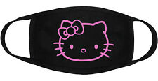 Hello Kitty - Face Mask Adult Youth Fashion 2 Layers 100% Cotton Made in US