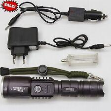 CREE LED HIGH POWER SEARCHLIGHT Flashlight Torch T6 28000 Lumens XL-K118 38000W