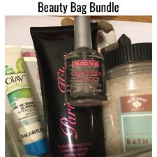 Beauty Gift Bag Fragrance Lotion Bath Body Cosmetics Travel Case Shower Caddy