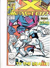 X-FACTOR  #49 1989 STAN LEE -ARCHANGEL-VS-ICEMAN-JUDGEMENT WAR P6 SIMONSON/ROSEN