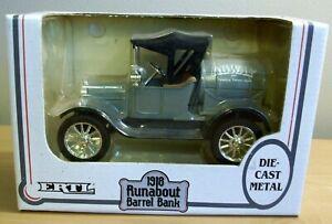 Ertl 1918 Runabout Barrel Truck Bank Agway Die Cast Metal NEW