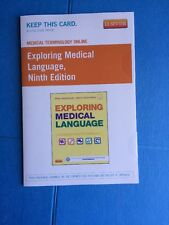 Medical Terminology Online for Exploring Medical Language (Access Card) by Myrna