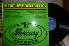 MERCURY Rockabillies VA, NM/NM UK, 1975, Eddie Bond, Billy Wallace, Roy Moss