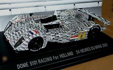 Dome s101 Racing for Holland no. 9 # LE MANS 2001 * 1:43 Ebbro 211 _