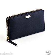 Kate Spade Wallet WLRU1498 Neda Newbury Lane Saffiano Leather Black Agsbeagle