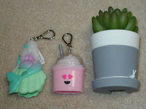 BATH & BODY WORKS POCKET *BAC HAND GEL HOLDERS NEW 2021 *CHOOSE STYLE* FREE SHIP