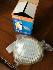 Vstar LED PAR36 12V 9W 3000K Bulbs,950LM,glass&brass, SIX PACK (QTY=6)