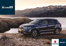 Suzuki SX4 S-Cross 2017 brochure catalogue Slovakia Slovaquie