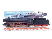 CQ592-3# Märklin H0/AC 3047 Guss-Dampflok 44 690 DB Rauch Telex, sehr gut+OVP