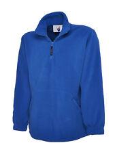Mens Premium Fleece Pullover Jumper Size XS to 3XL