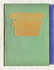 1909 1ST EDITION - RILEY ROSES - JAMES WHITCOMB RILEY - HOWARD CHANDLER CHRISTY