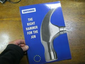 1 - Vintage Whitehouse The Right Hammer For The Job Catalogue. 1990s