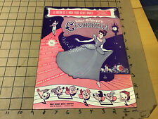 vintage Original sheet music: CINDERELLA a dream is a wish your heart makes 1949