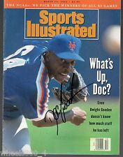Sports Illustrated 1993 New York Mets Dwight 'DOC' Gooden AUTOGRAPH No Label NRM