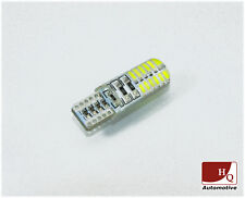 Car LED Light Bulb W5W 24x SMD-3014 Turbo LED WHITE