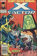 Marvel X-Factor Annual 2 1987 Inhumans Man In The Moon Duffy