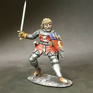 Knight tin toy soldier 54 mm 1/32 HAND PAINTED