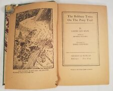 The Bobbsey Twins On The Pony Trail by Laura Lee Hope - 1944  Vintage Book