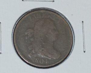 1804 draped bust half cent