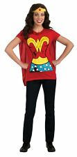 Wonder Woman NEW Red Womens Size Small S 6-10 DC Comics Halloween Costume