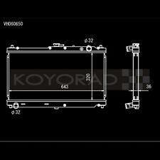 Koyo VH060650 Hyper V-Core Racing Radiator for 99-05 Mazda Miata MX-5 1.8L I4