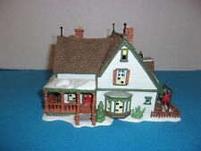 "Dept 56 Lighted ""Harper's Farmhouse"" # 56.56612 New England Village Series"
