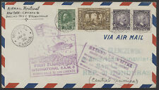 1930 AAMC #3003 Montreal to San Lorenzo Honduras via Brownsville FAM No 8 Flight