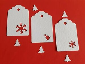 25 / 50 DELUXE DETAILED  CHRISTMAS GIFT TAGS / PLACECARDS/ WISHING TREE