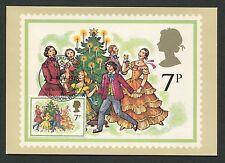 GB UK MK 1978 CHRISTMAS MUSIC MAXIMUMKARTE CARTE MAXIMUM CARD MC CM d402