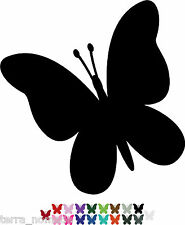 Butterfly STICKERS x 32 Lots of Colours Car Wall Art Stickers Decals Graphics