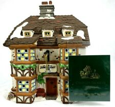 "Dept 56 Dickens Village 4th Edition ""Sir John Falstaff Inn"" #57533 Nib 57533"