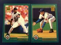 2001 Topps #425 ARMANDO BENITEZ #452 REY ORDONEZ New York Mets Lot 2 Nice !
