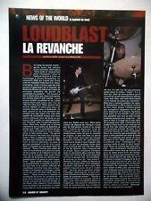 COUPURE DE PRESSE-CLIPPING :  LOUDBLAST  03/2002 Stéphane Buriez