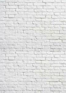 5x7ft White Brick Wall Vinyl Photography Backdrops Wedding Party Backgrounds
