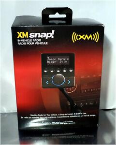 XM Snap In-Vehicle Satellite Radio Model XSN1V1KC Audiovox New Open Box