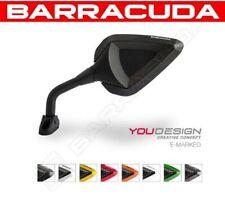 BARRACUDA RETROVISORI R-VERSION RACE INSERTI CARBON LOOK HONDA CBR 1000 RR 08-10